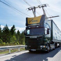 Устойчивые Автомобильные дороги eHighways для грузовых автомобилей может быть ответом к увеличению грузовых перевозок